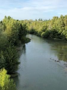 Views across River Orbieu